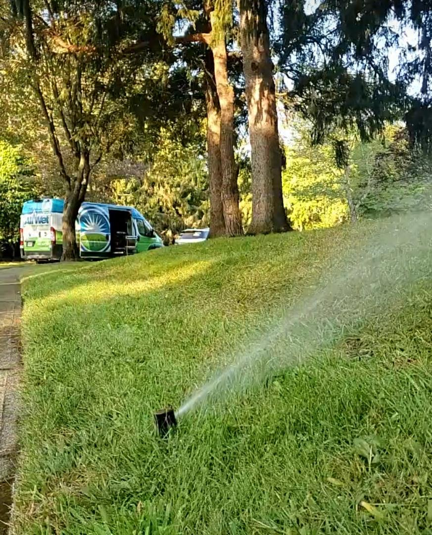 Roxbury Township, NJ - winterization of the sprinkler system