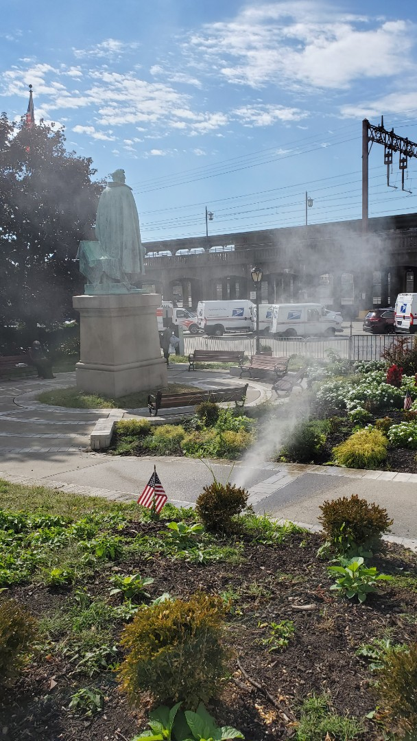 Winterize irrigation system at city hall
