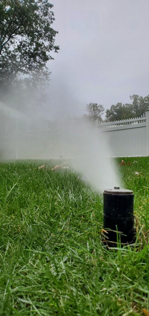 winterization of the sprinkler system