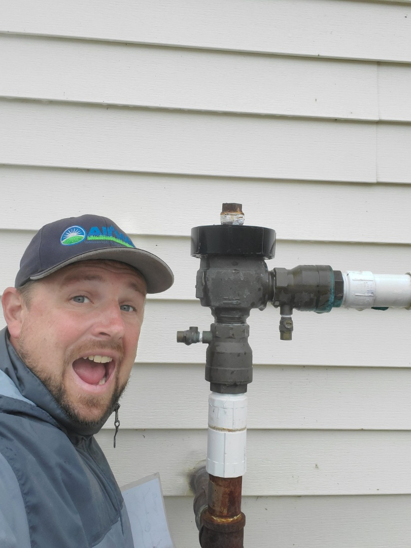 Mount Arlington, NJ - Winterize irrigation system at commercial property