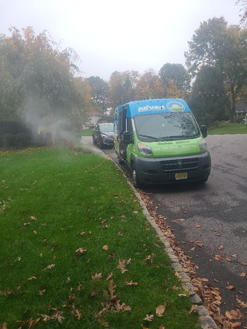 Sprinkler Irrigation System Winterization Blow out Service