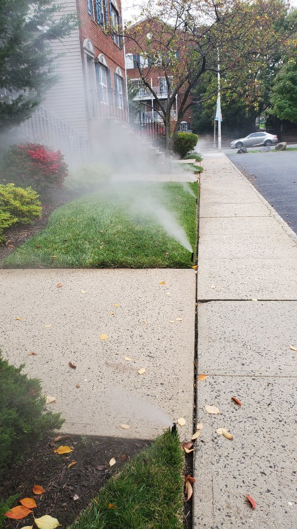 Winterize irrigation system at condo complex