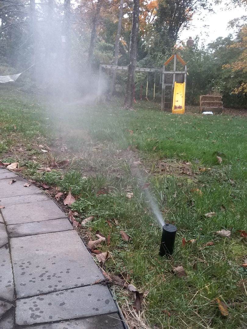 Irrigation winterization