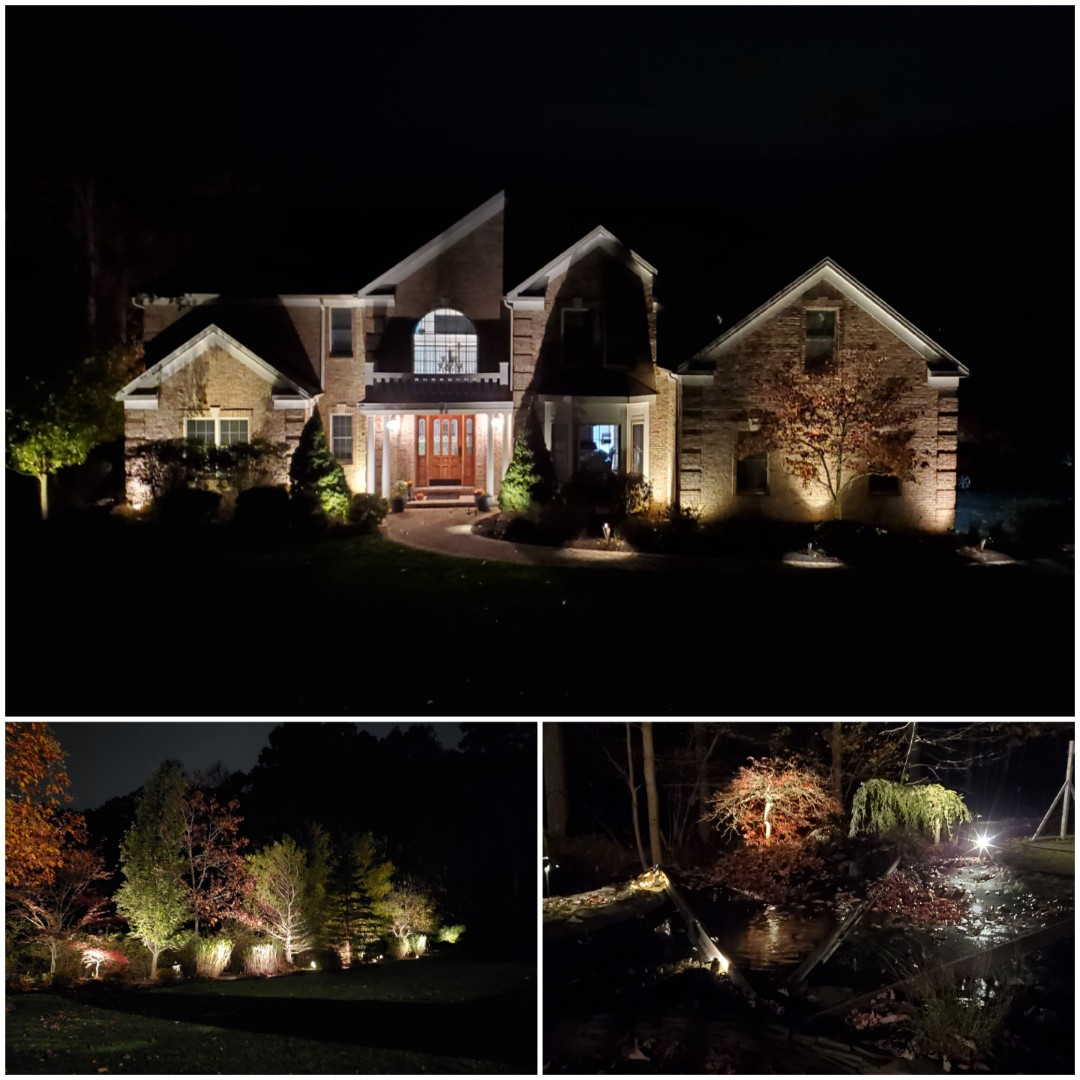 Mendham, NJ - Add lights to low voltage lighting system