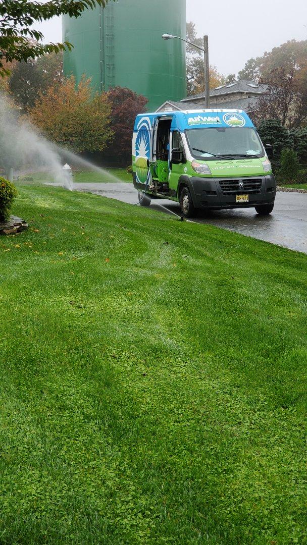 Verona, NJ - Winterize irrigation system