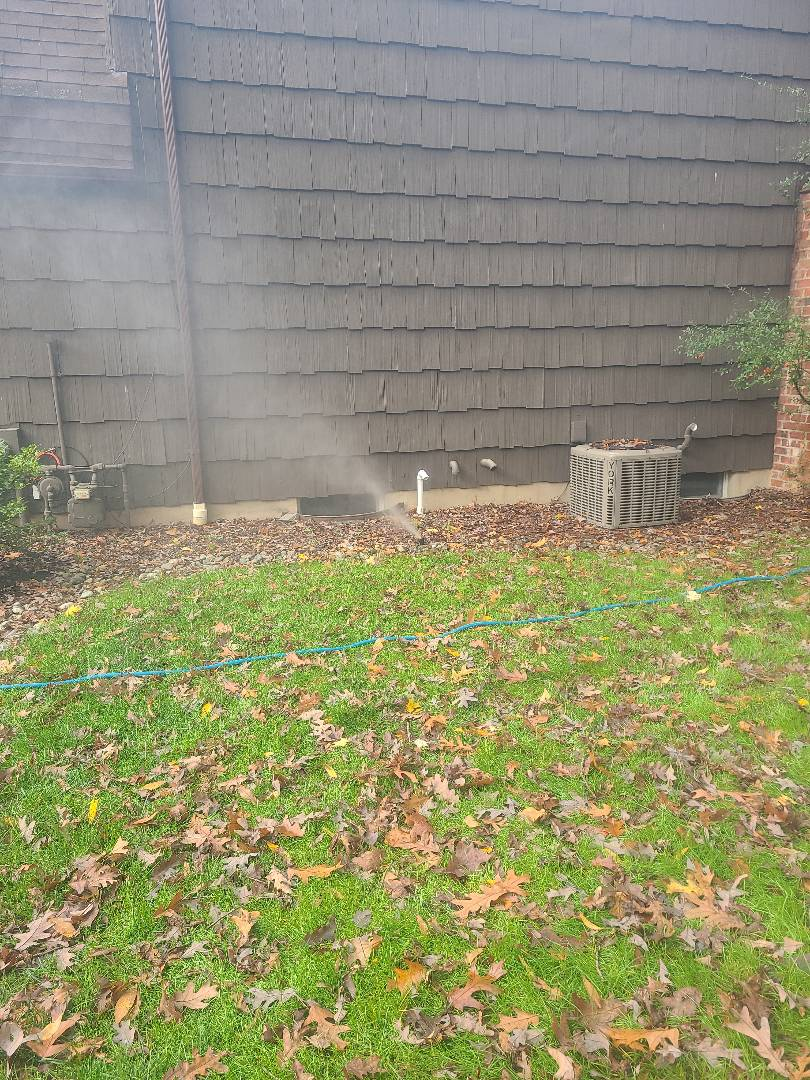 Berkeley Heights, NJ - Winterize sprinkler irritation system. Blow out. Drain out. Shut down.