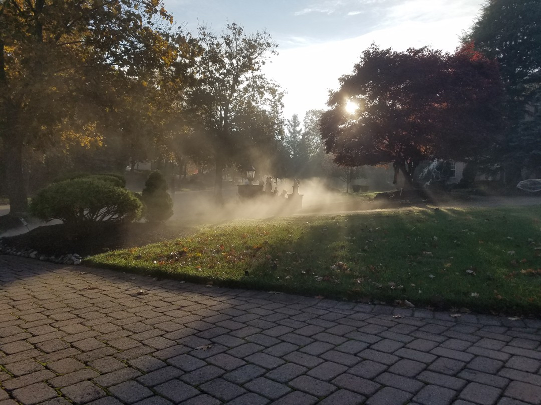 Irrigation winterization blowout closing sprinklers service Hunter hydrawise