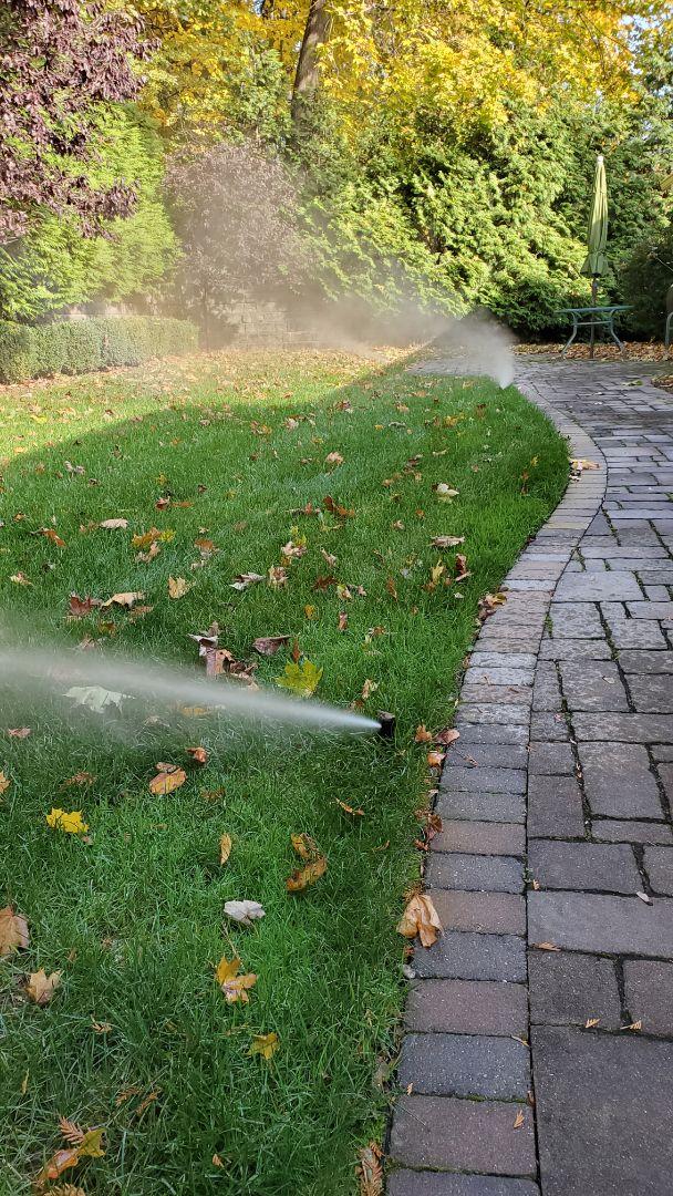 Winterize sprinkler system to avoid freeze damage