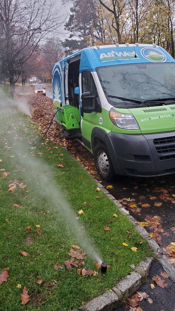 Chatham Township, NJ - Winterize sprinkler system