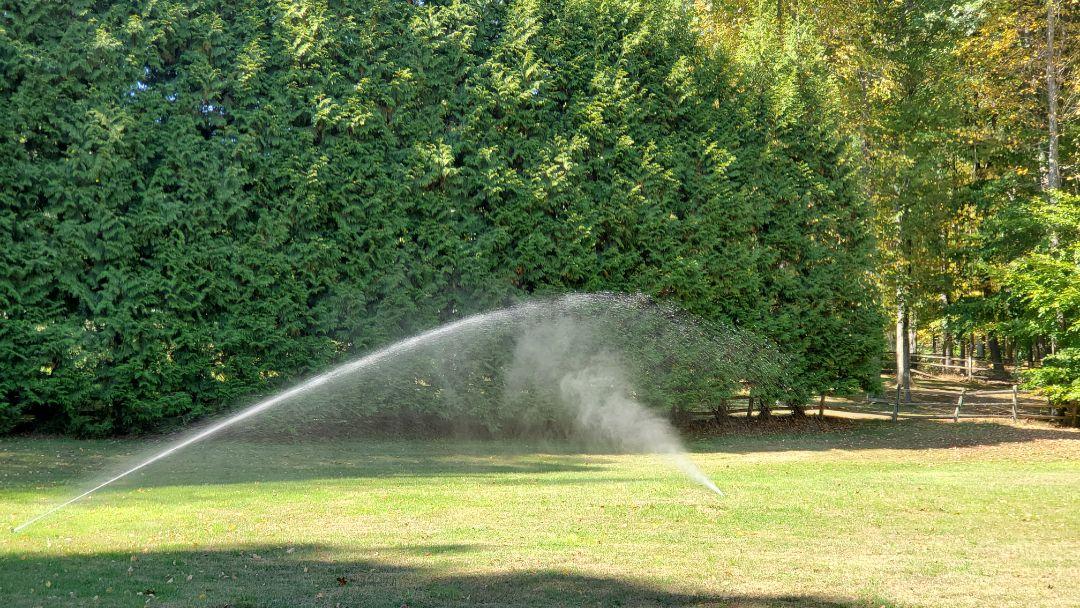 Winterize irrigation system
