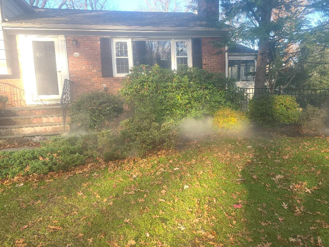 Chatham, NJ - Winterize sprinkler irritation system. Blow out. Drain out. Shut down.