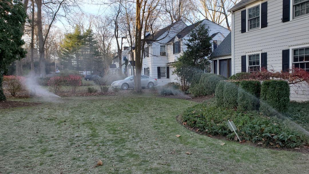 Chatham, NJ - Winterize irrigation system before freeze damage