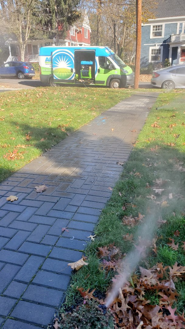 Blow out sprinkler lines