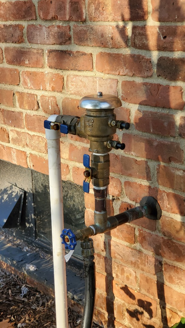 Turn off sprinkler system for the winter