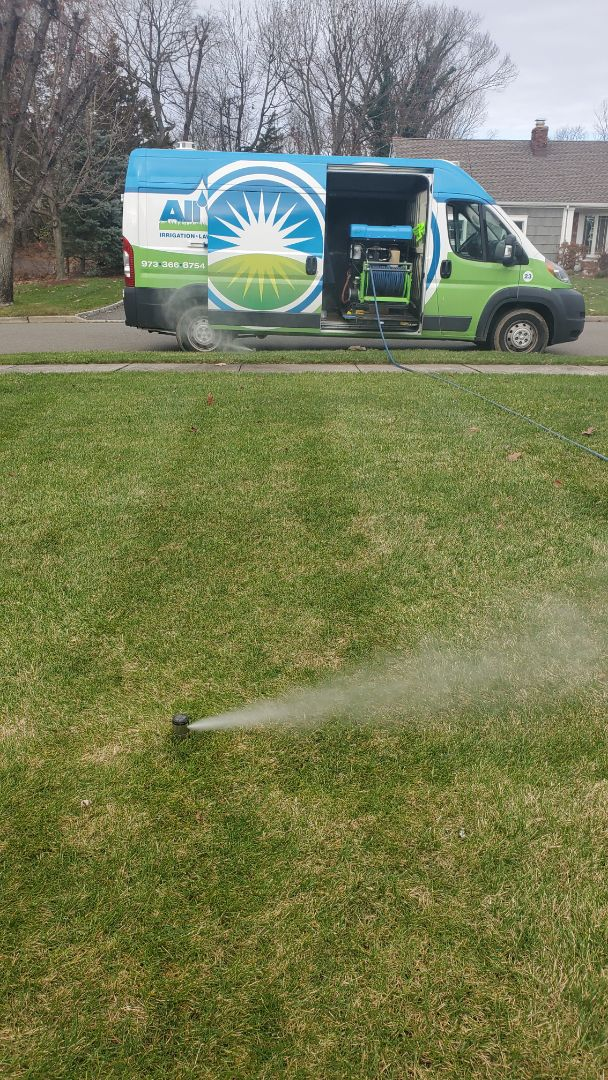 Montville, NJ - Winterize irrigation system and hose faucets attached to main line