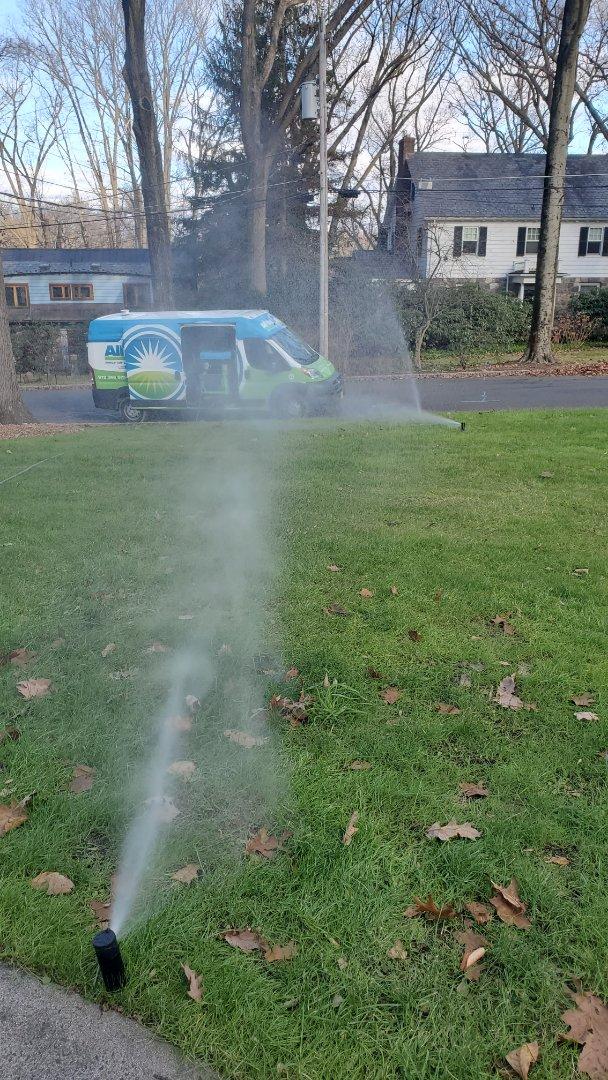 Morristown, NJ - Winterize sprinkler system