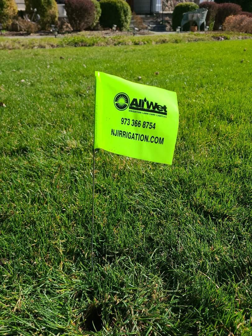 Florham Park, NJ - Spring start up, turn on irrigation Sprinkler system. Head repairs, pipe breaks, leaks.