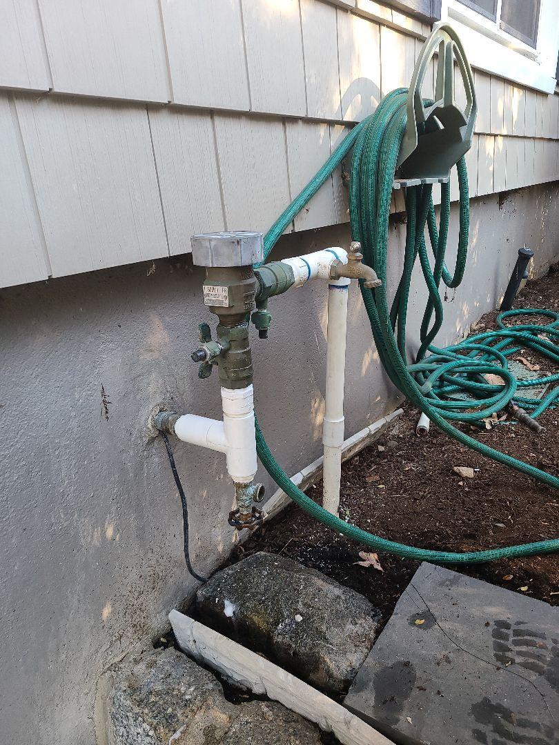 Spring start up, irrigation Sprinkler turn on. Repair broken heads, pipe breaks and leaks. Repair broken backflow.