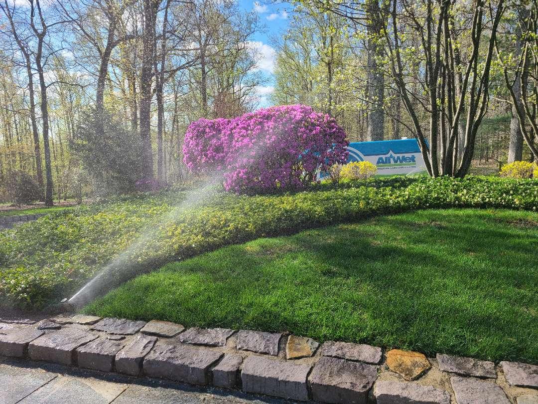 Bernardsville, NJ - Spring start up, irrigation Sprinkler turn on. Repair broken heads, pipe breaks and leaks.