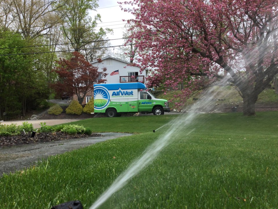 Start up the irrigation system