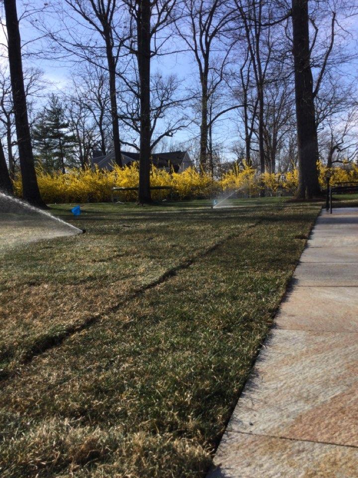 Chatham, NJ - Start up the irrigation system
