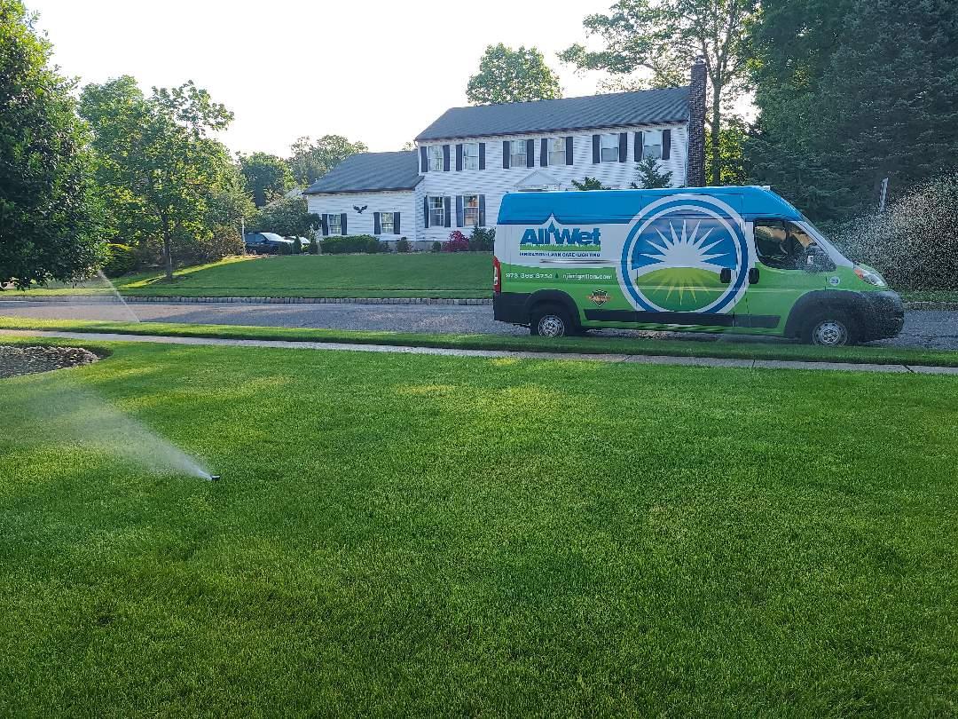 Wayne, NJ - Spring start up, irrigation Sprinkler turn on. Repair broken heads, pipe breaks and leaks.