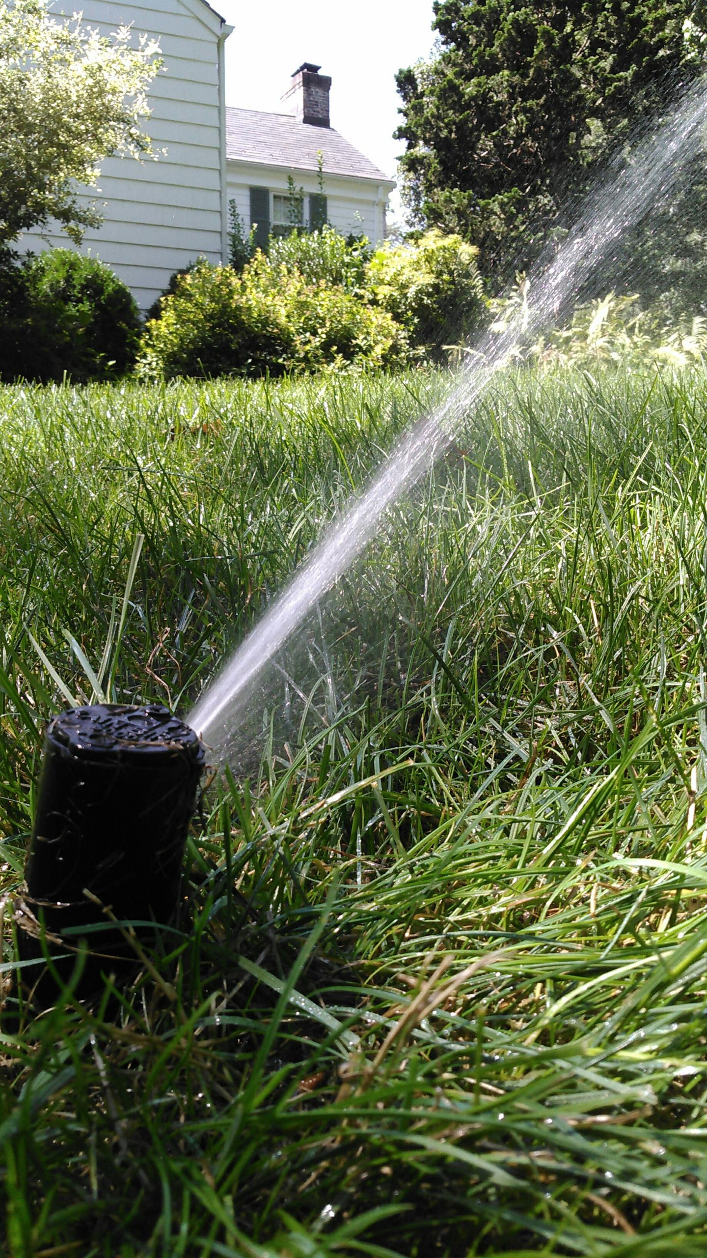 Gillette, NJ - Mid season check for sprinkler system to make sure that is working properly for the heat of the summer
