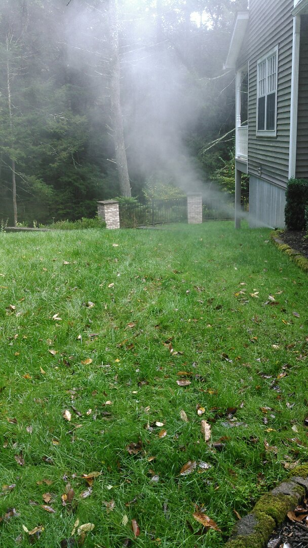 Milford, PA - Completed lawn irrigation winterization