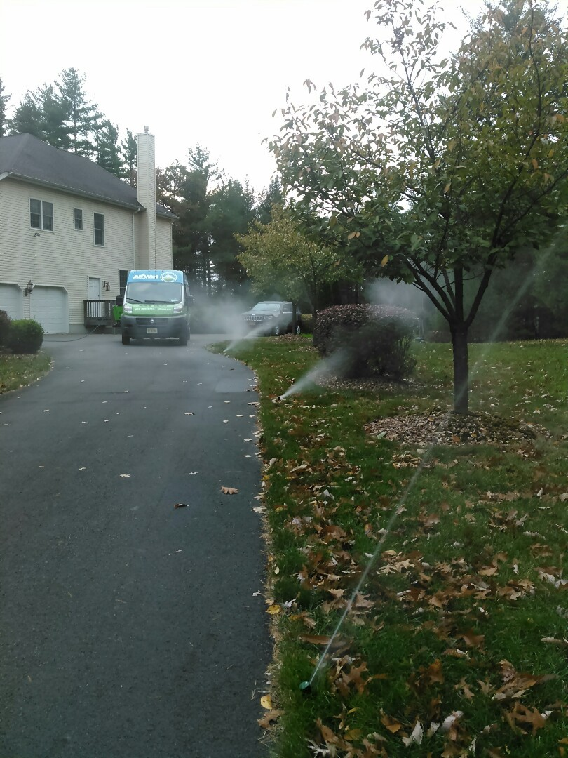 Milford, PA - Winterizing the lawn sprinkler system