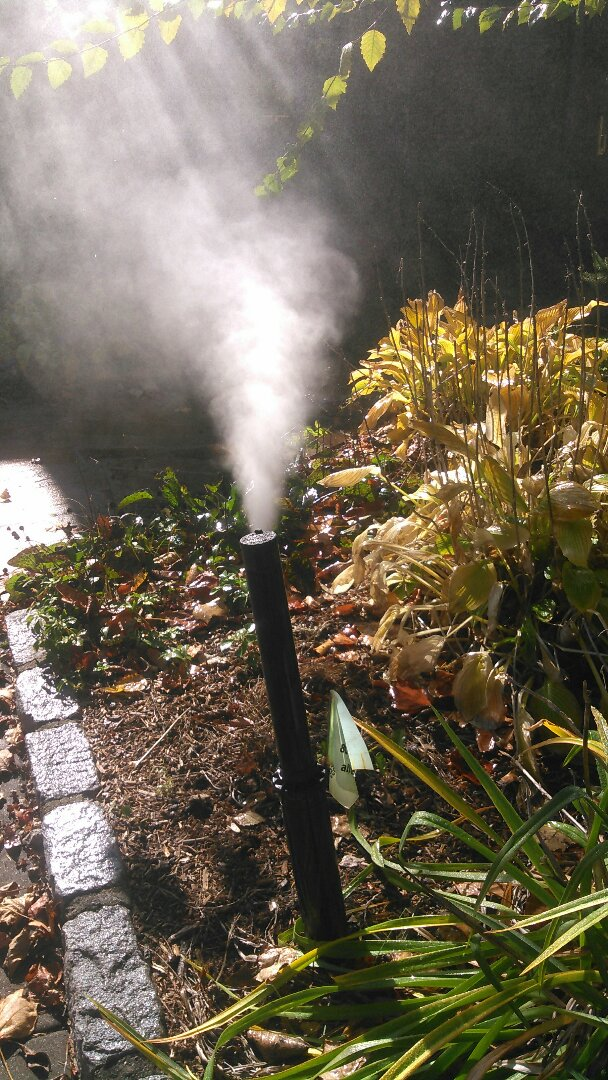 Franklin Lakes, NJ - Completed winterization of irrigation system