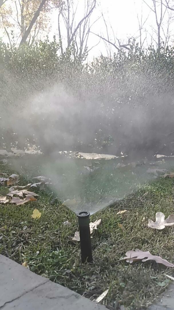 Gillette, NJ - Winterizing the irrigation system