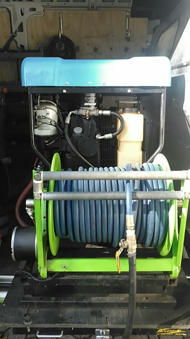 Gillette, NJ - Winterizing the irrigation system with top of the line air compressors
