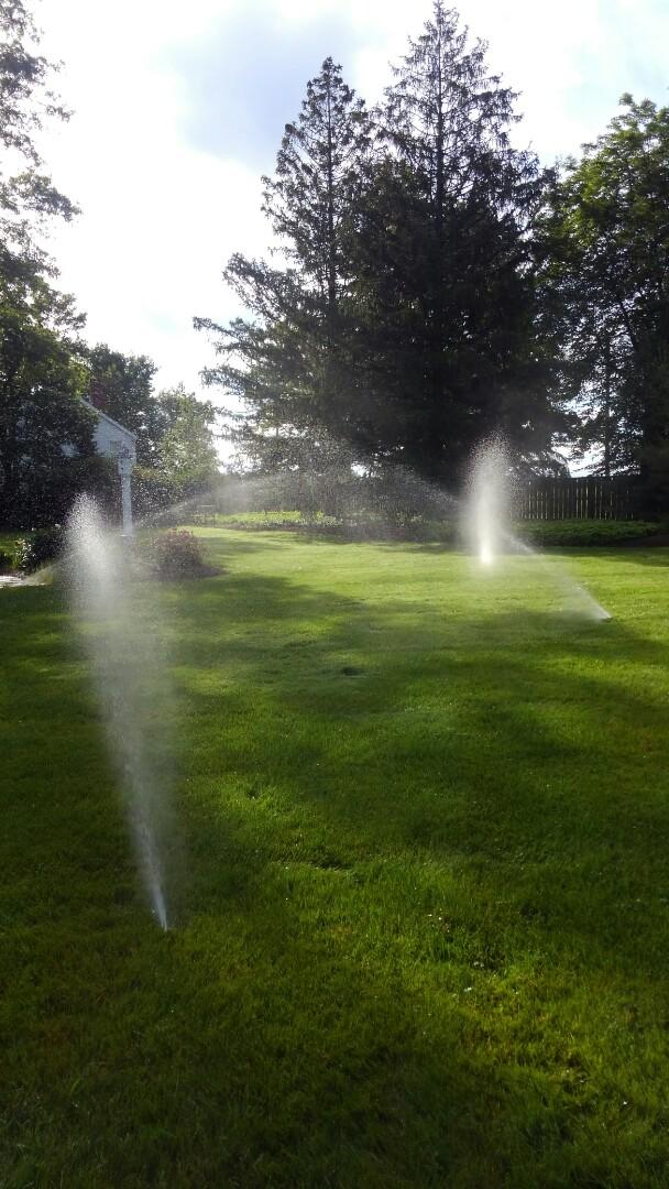 Harding Township, NJ - Start up sprinkler system