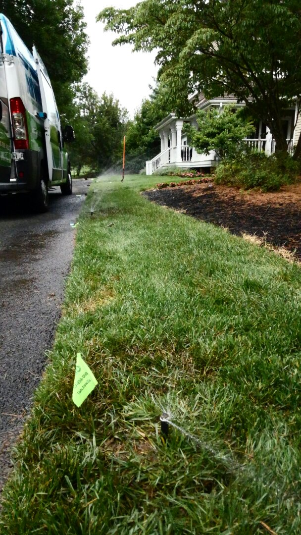 Lafayette Township, NJ - Replace sprinkler heads and switch nozzles to low flow money saving nozzles