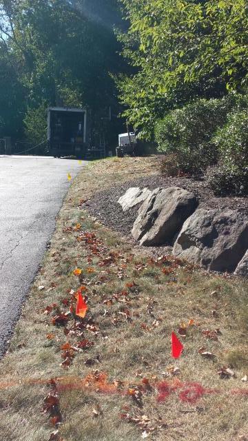 Glen Rock, NJ - Install lawn sprinkler irrigation system.