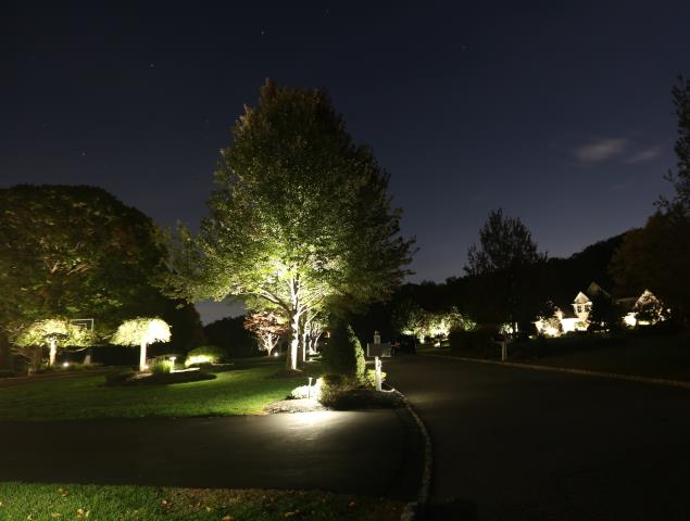 Branchville, NJ - Install and repair deck, patio, yard and walkway lighting system.