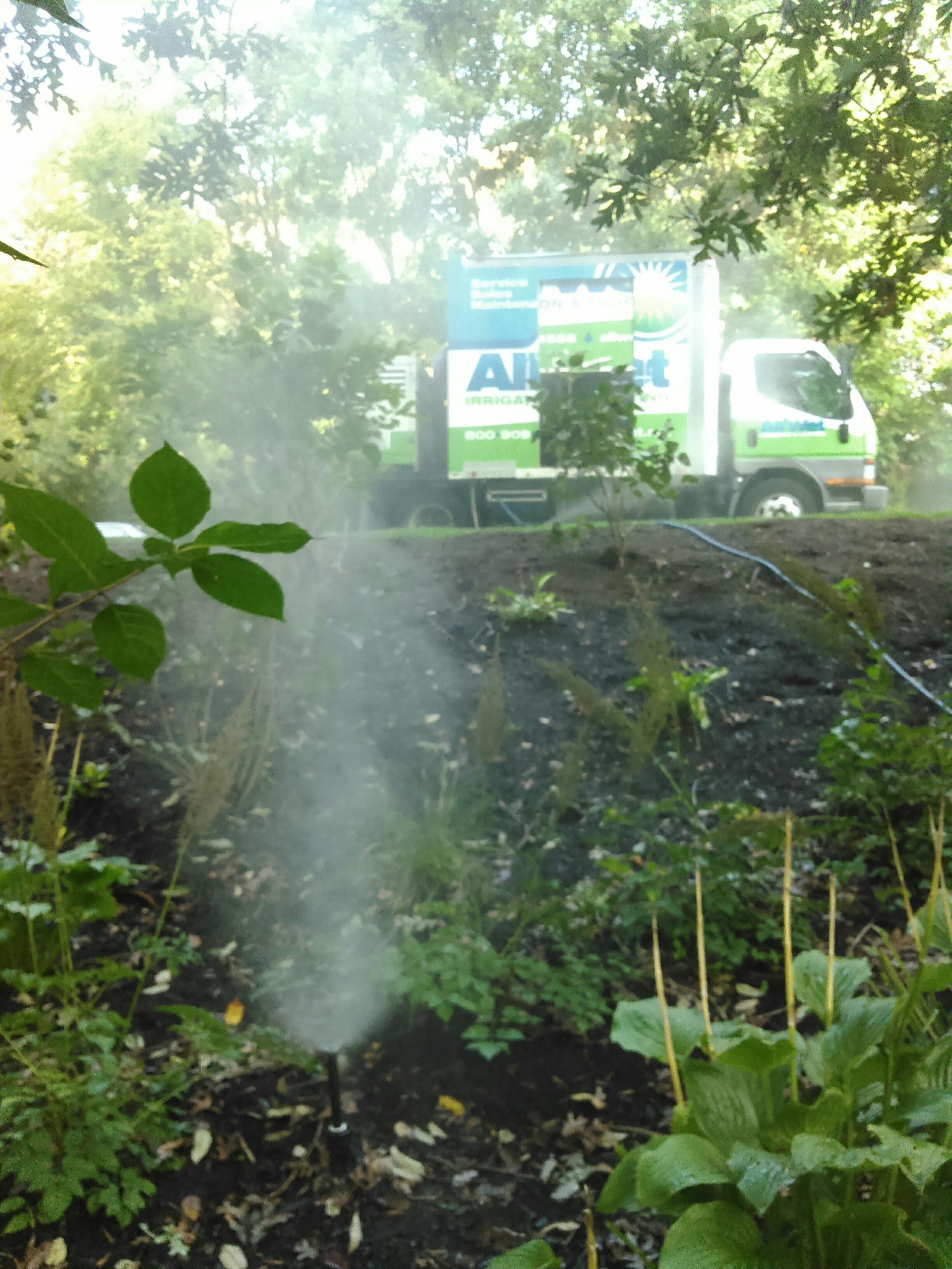 Sussex, NJ - Winterize sprinkler irrigation system