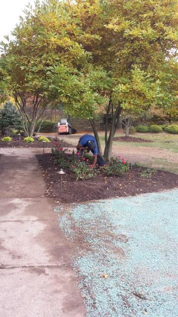 Califon, NJ - Install and repair drip irrigation system.