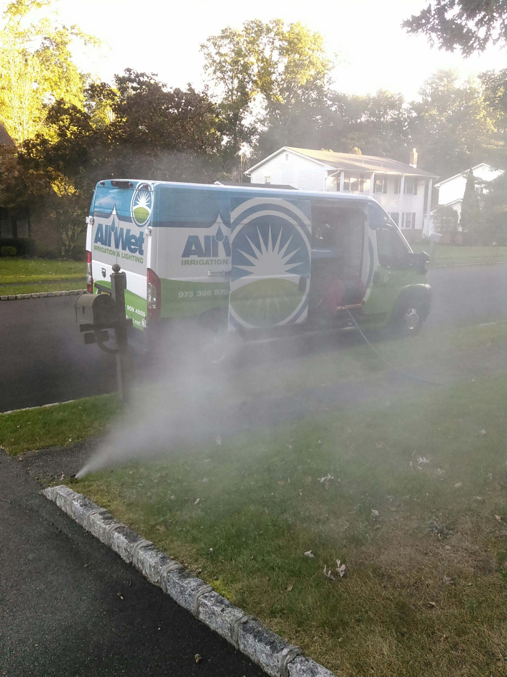 West Caldwell, NJ - Winterize sprinkler lawn irrigation system