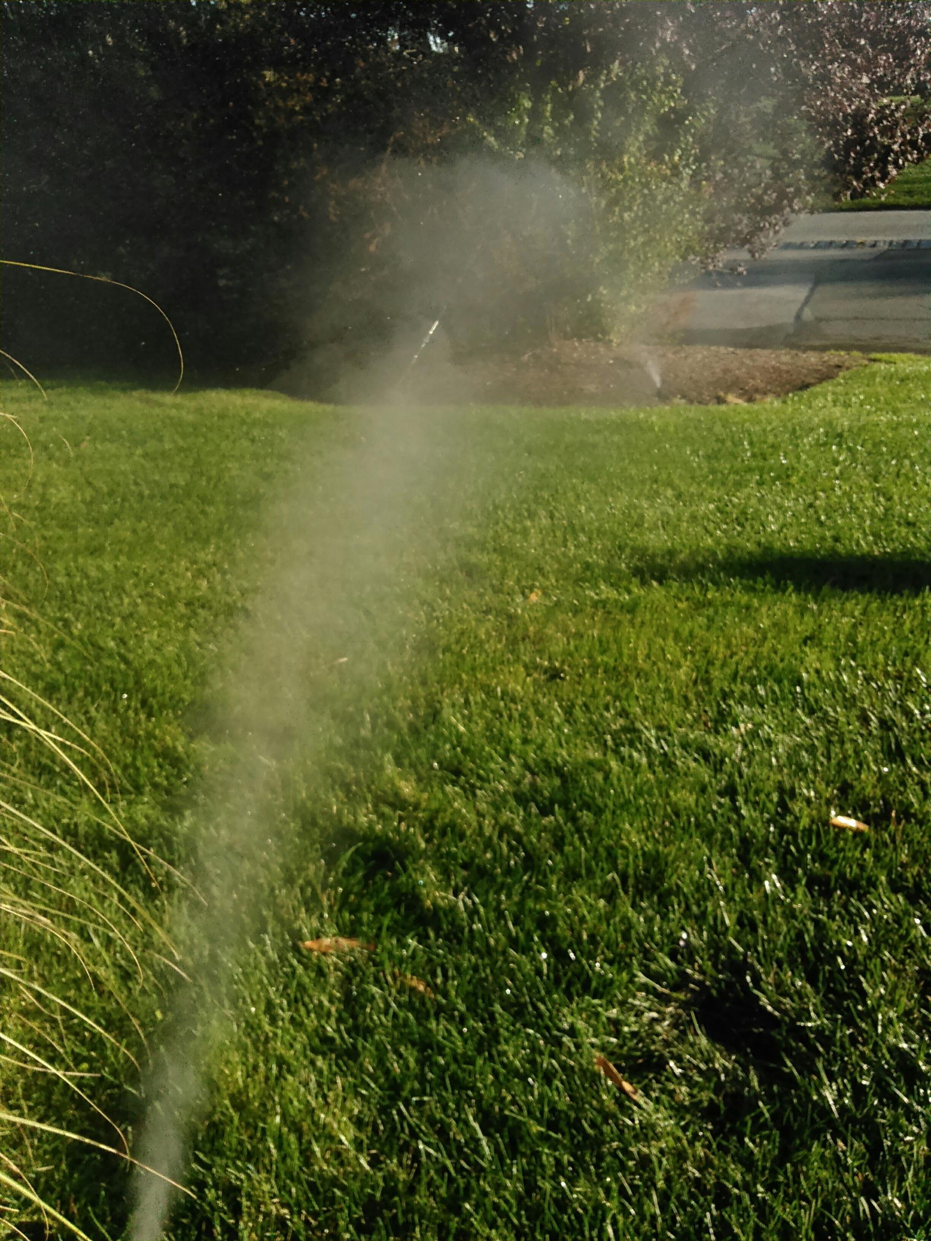 Hamburg, NJ - Winterize sprinkler irrigation system