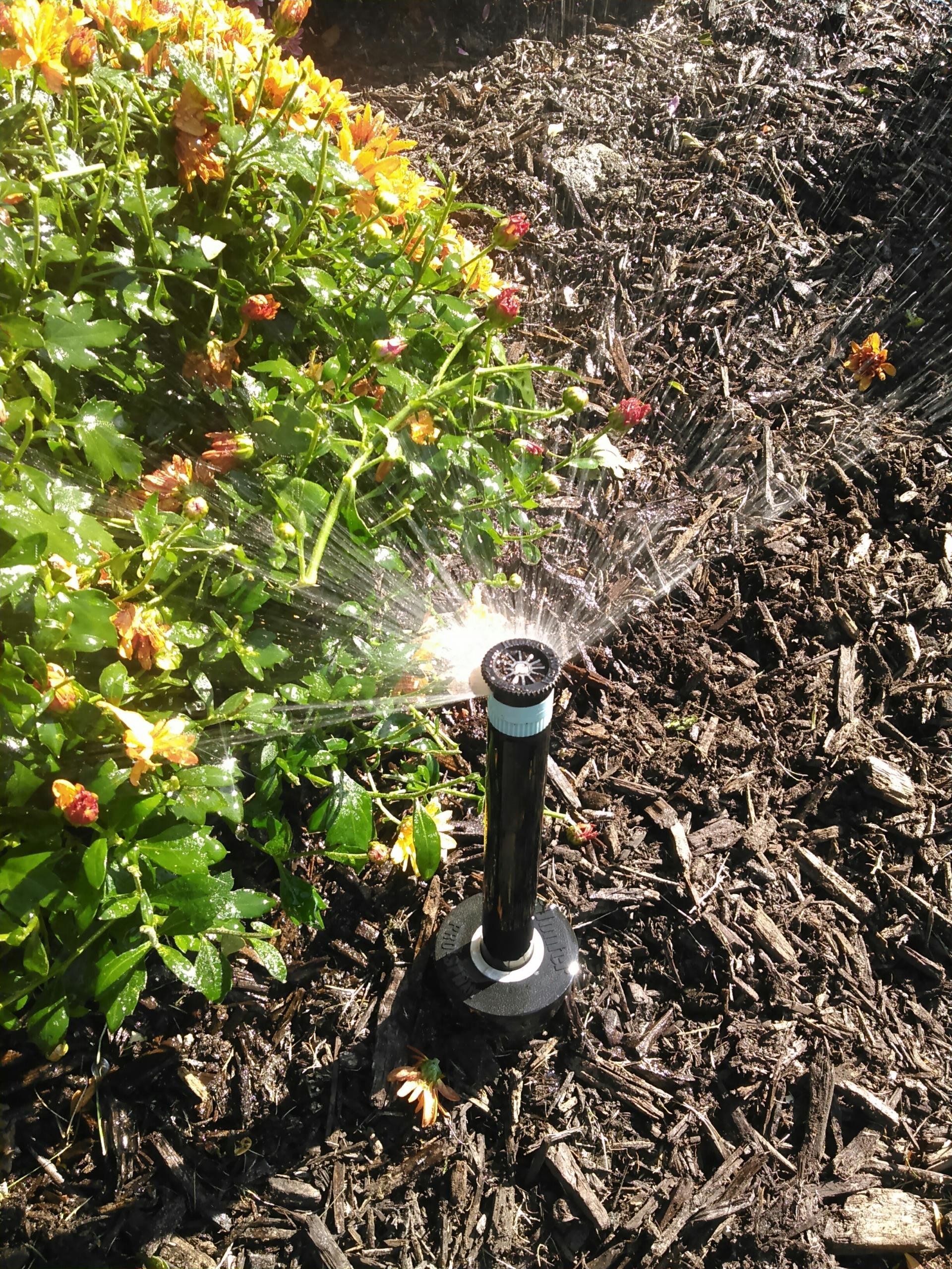 Andover, NJ - Winterize sprinkler irrigation system to prevent freezing damage