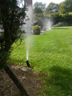 Short Hills, NJ - Winterization of sprinkler system.