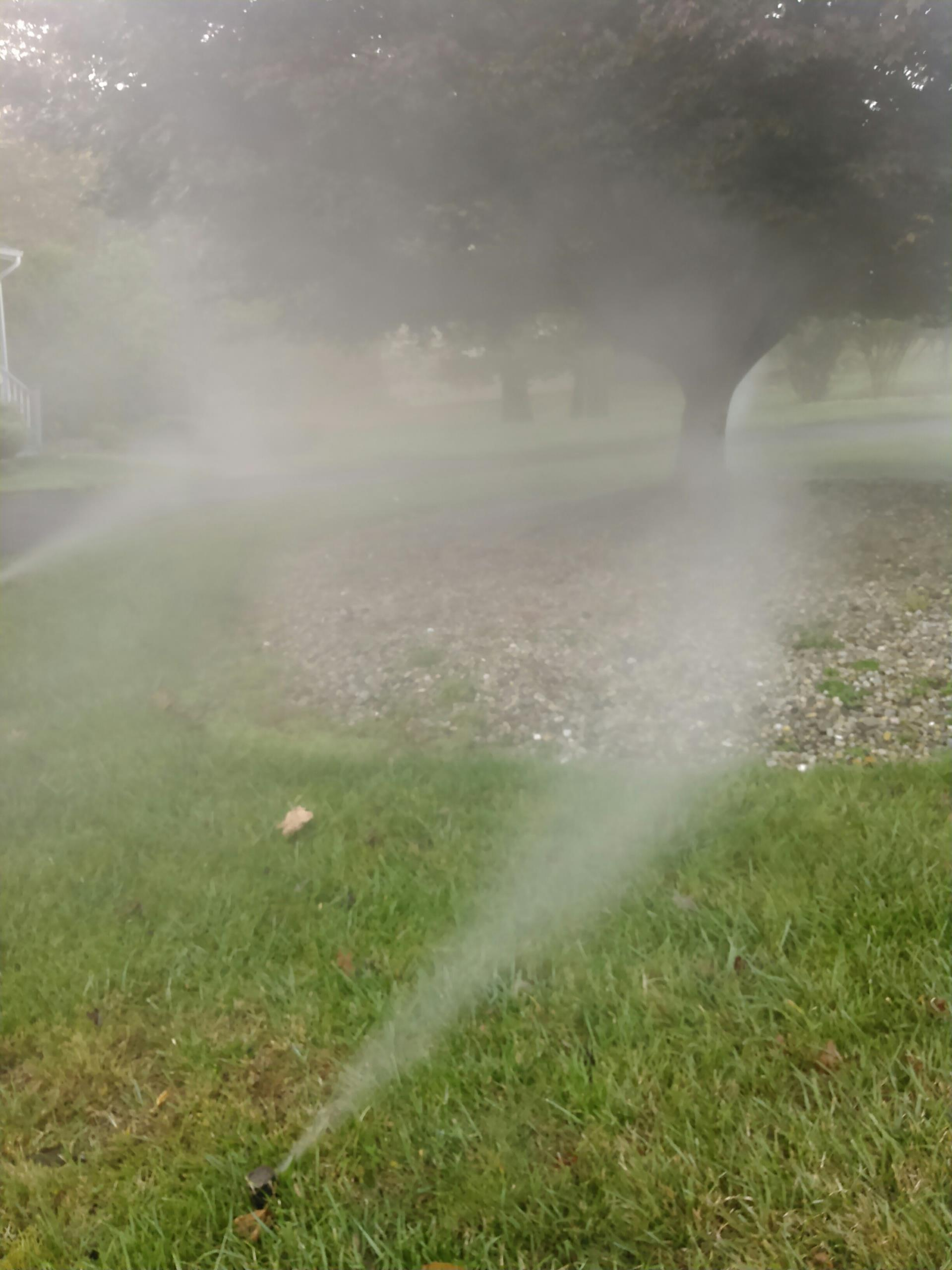 Jefferson, NJ - Blow out sprinkler irrigation system