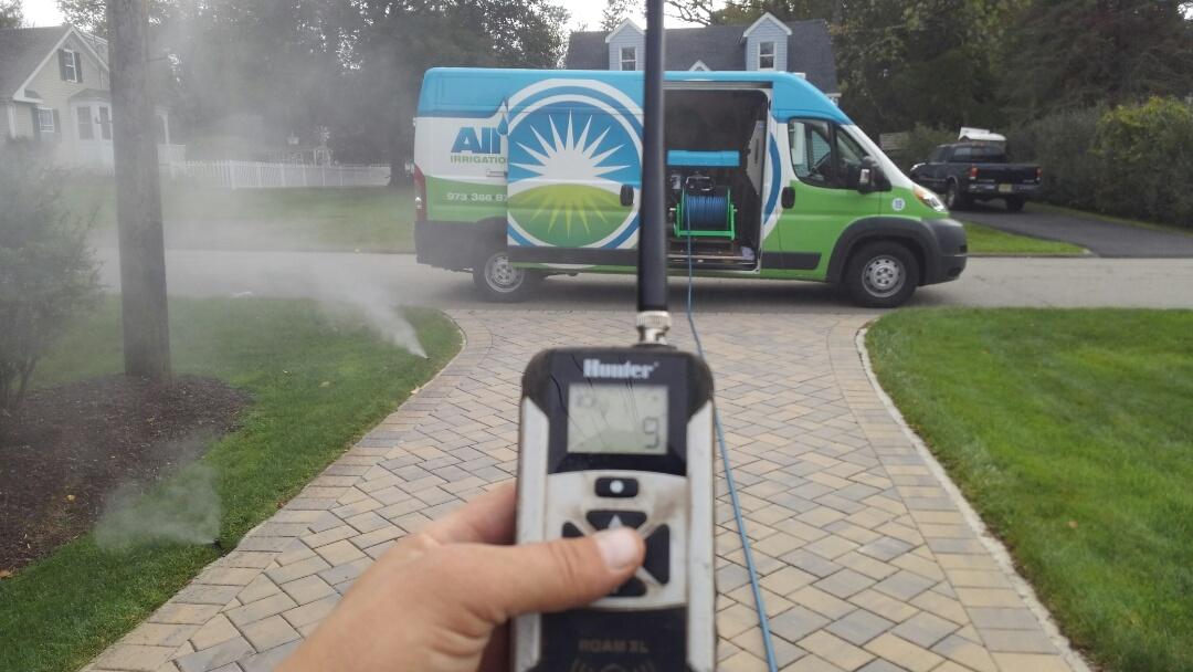 Lafayette Township, NJ - Winterize the sprinkler system