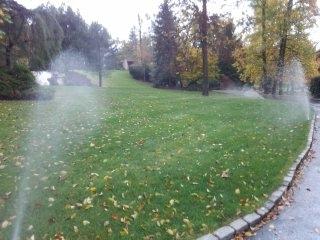 Warren, NJ - Fall sprinkler turn off