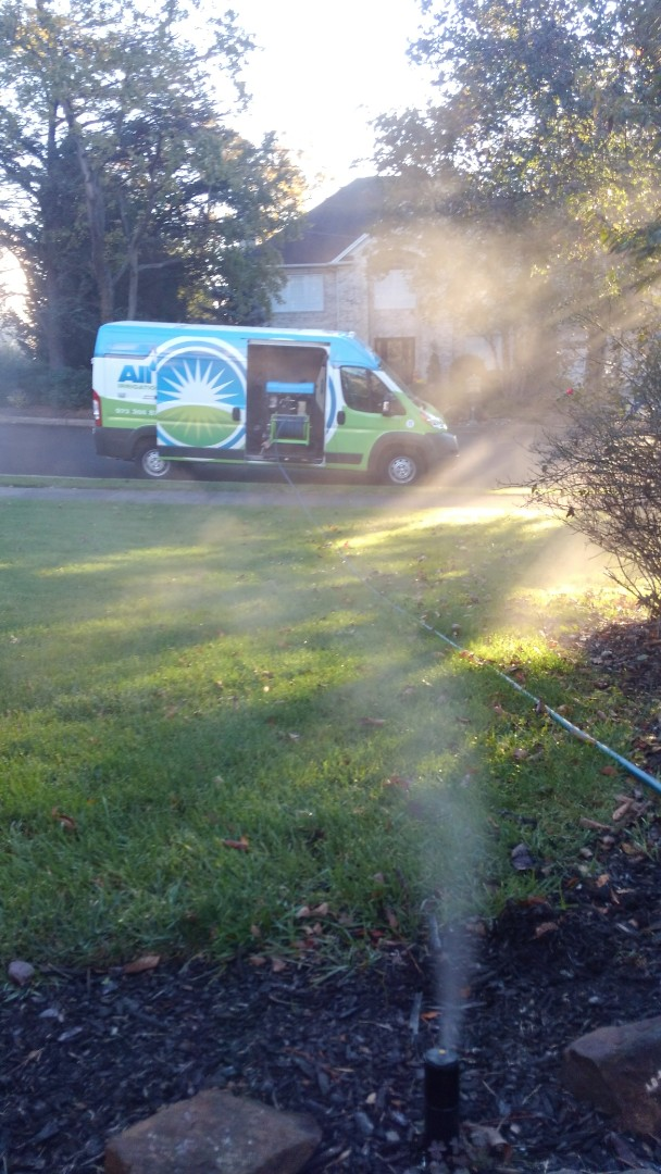 Pine Brook, NJ - Winterize the irrigation system