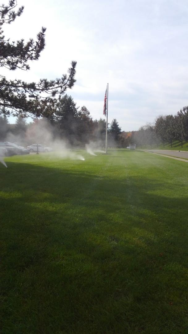 Mount Arlington, NJ - Winterize irrigation system at a commercial building