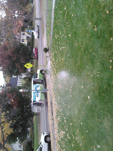 Glen Ridge, NJ - Winterizing the sprinkler system,water and clock are off