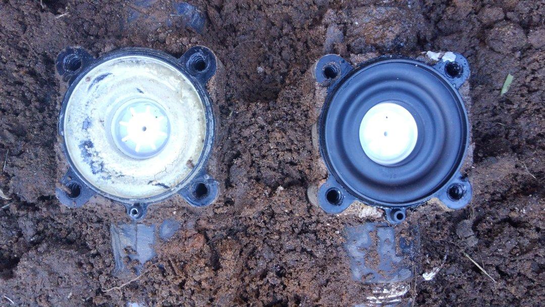 North Caldwell, NJ - Rebuilt hunter valves