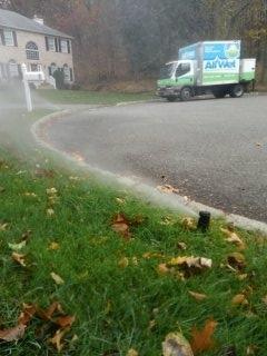 Succasunna, NJ - Winterize sprinkler system